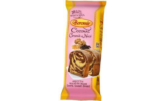 Cozonac with Walnuts Cream