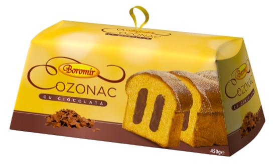 Cozonac with chocolate cream